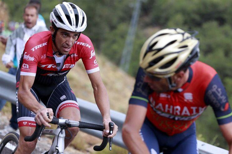 Alberto Contador e Vincenzo Nibali