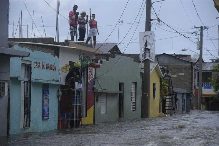 Furacão Irma à passagem pela República Dominicana