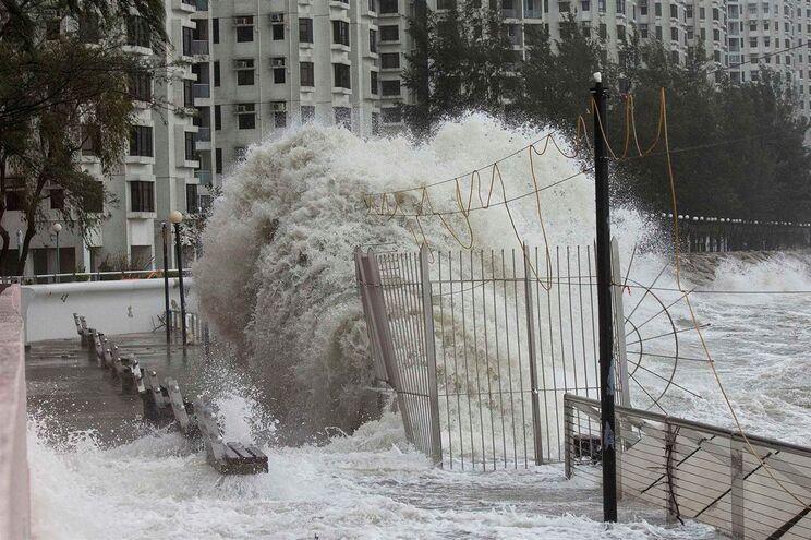 Doksuri será a quarta tempestade a atingir Macau em menos de um mês
