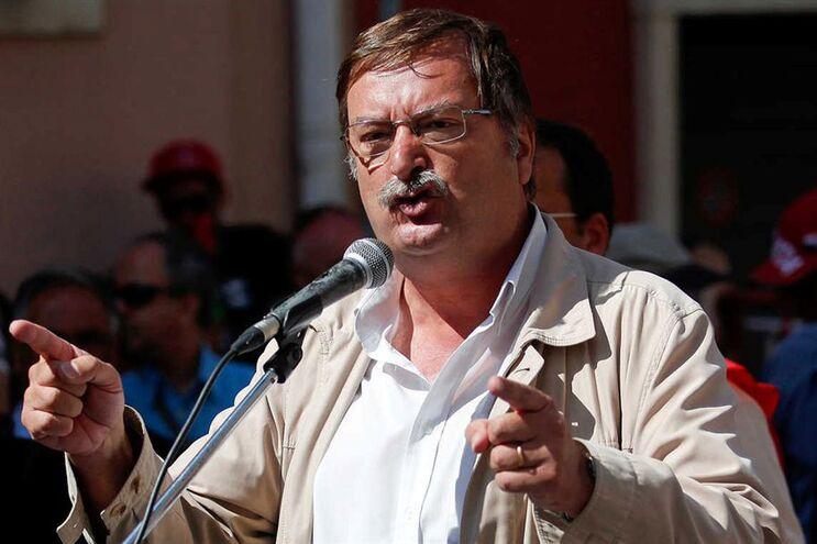 Secretário-geral da UGT, Carlos Silva