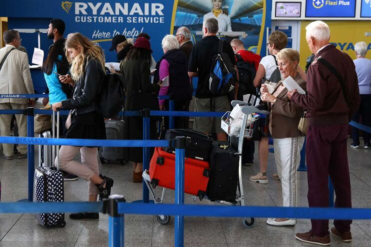 Ryanair cancelou 2% de todos os voos nas próximas seis semanas
