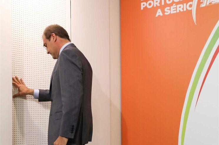 Pedro Passos Coelho na noite das eleições autárquicas