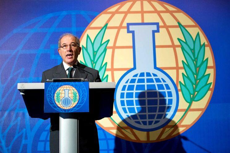 Ahmet Üzümcü, diretor da Organização para a Proibição de Armas Químicas