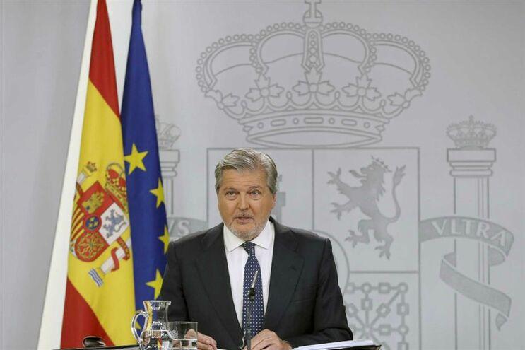 Porta-voz do Governo espanhol, Íñigo Mendez de Vigo