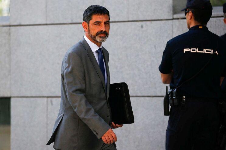 Josep Lluis Trapero, chefe da polícia da Catalunha