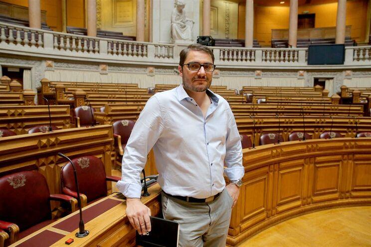 Deputado João Oliveira, líder parlamentar do PCP
