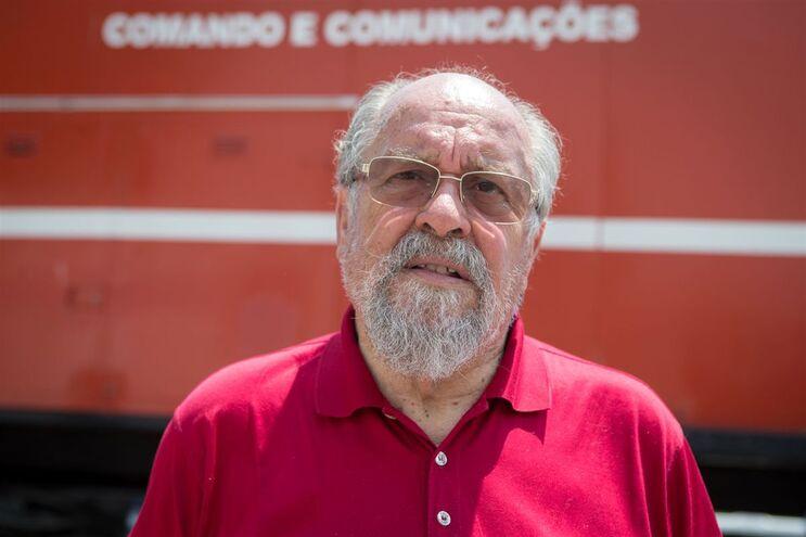 Jaime Marta Soares, presidente da Liga dos Bombeiros