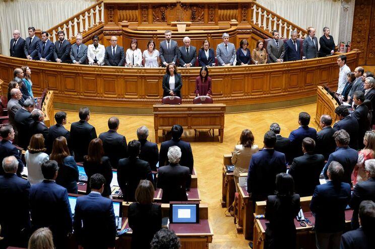 Voto, apresentado pelo presidente da Assembleia da República, Eduardo Ferro Rodrigues, foi aprovado por