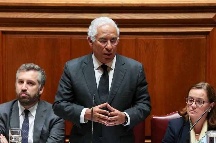 Primeiro-ministro António Costa no debate quinzenal