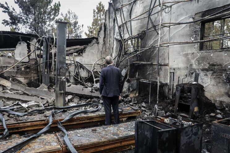 Marcelo alerta para a situação da pequena agricultura após os incêndios