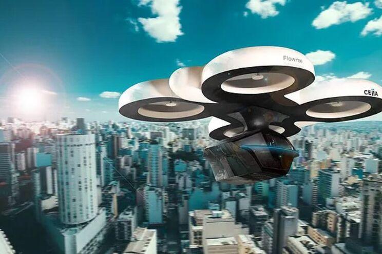 Flow.me, o carro-drone
