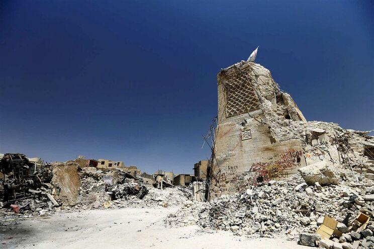 Grande parte do património arqueológico e religioso do Iraque foi destruído pelos jiadistas