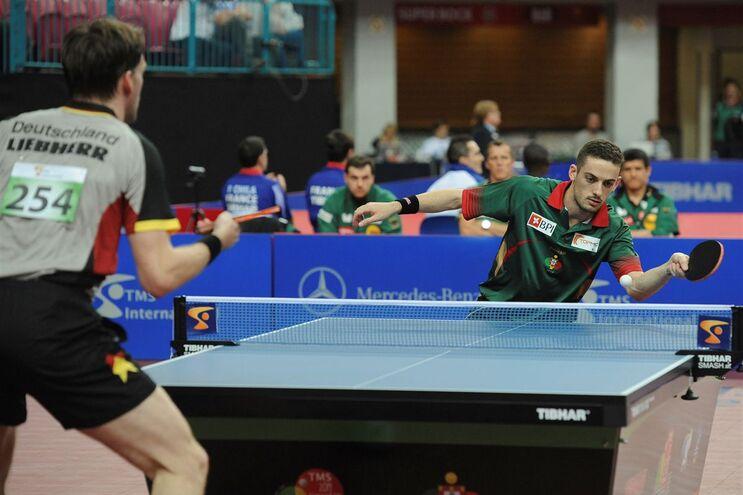 Marco Freitas, número 17 do 'ranking' mundial, perdeu com o nigeriano Aruna Quadri,