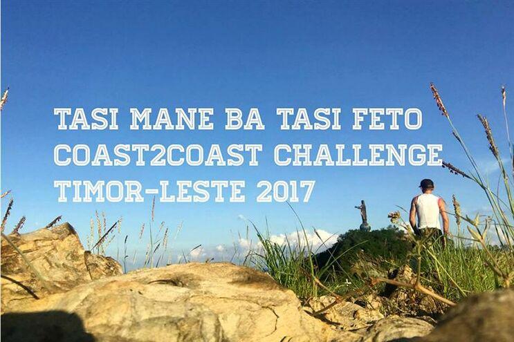 Ultramaratonista tenta atravessar Timor-Leste