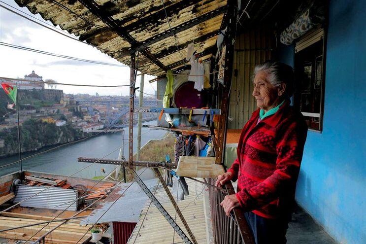 """Maria Augusta, 94 anos, não troca as vistas do Douro """"por nada deste mundo"""""""