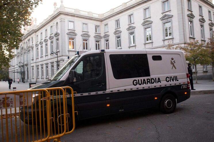 Guardia Civil anunciou detenção de 14 pessoas nesta operação