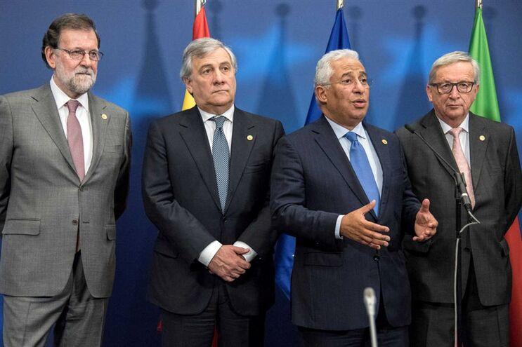 António Costa no Conselho Europeu que decorre em Bruxelas