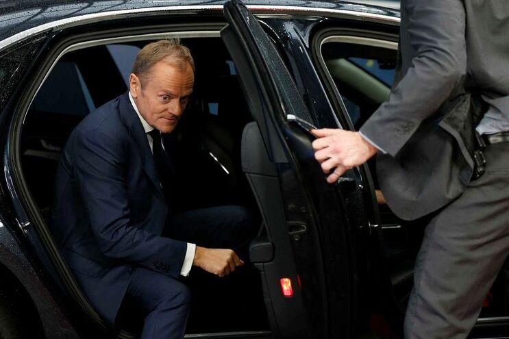 O presidente do Conselho Europeu, Donald Tusk, diz que está aberta a porta da segunda fase das negociações