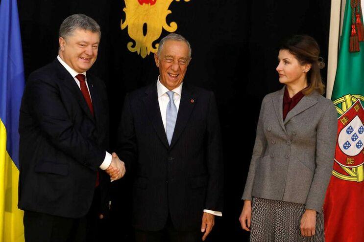 Poroshenko está em Portugal