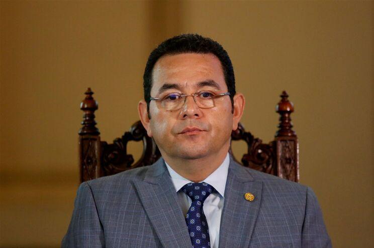 Presidente da Guatemala, Jimmy Morales