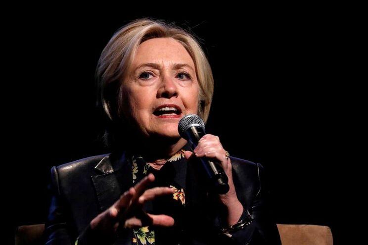 Ex-secretária de Estado democrata Hillary Clinton