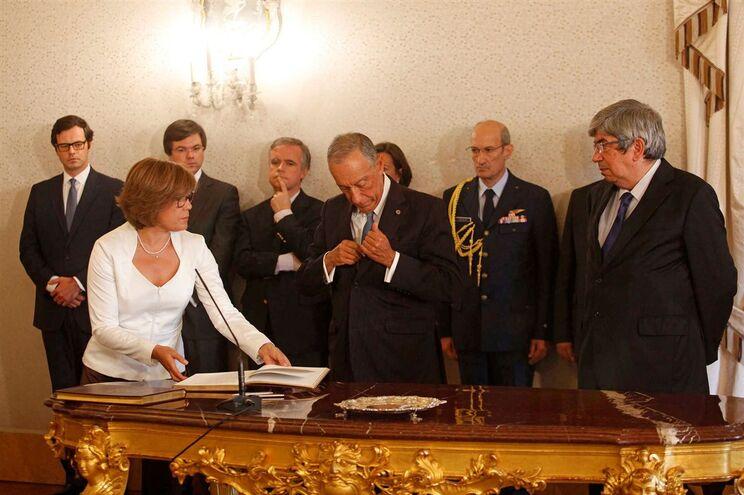 Membros do Tribunal Constitucional e Presidente da República