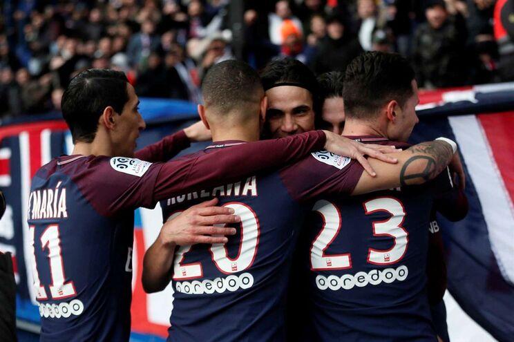 O Paris Saint-Germain goleou este sábado o Montpellier