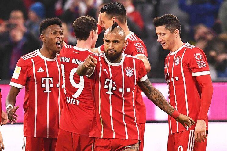 O Bayern Munique goleou, este sábado, o Hoffenheim