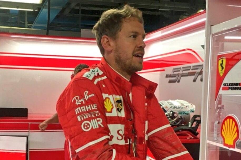 GP China F1, Sebastian Vettel: ″O carro estava incrível″