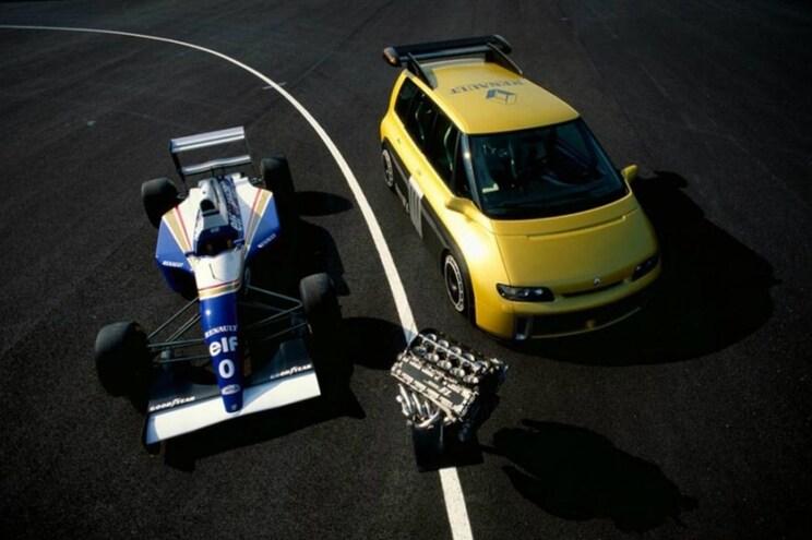Recorde a Espace F1 num ensaio de Alain Prost