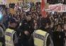 Confrontos em frente à AR marcam dia de greve geral