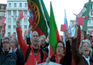 Militares marcharam em silêncio contra medidas do Governo