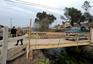 GNR intervém no caso da ponte construída por populares em Forjães