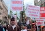 CGTP anunciou novos protestos no 1.º de Maio
