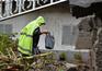 Chuva forte provoca derrocadas em Porto da Cruz