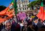 Manifestação em Viseu