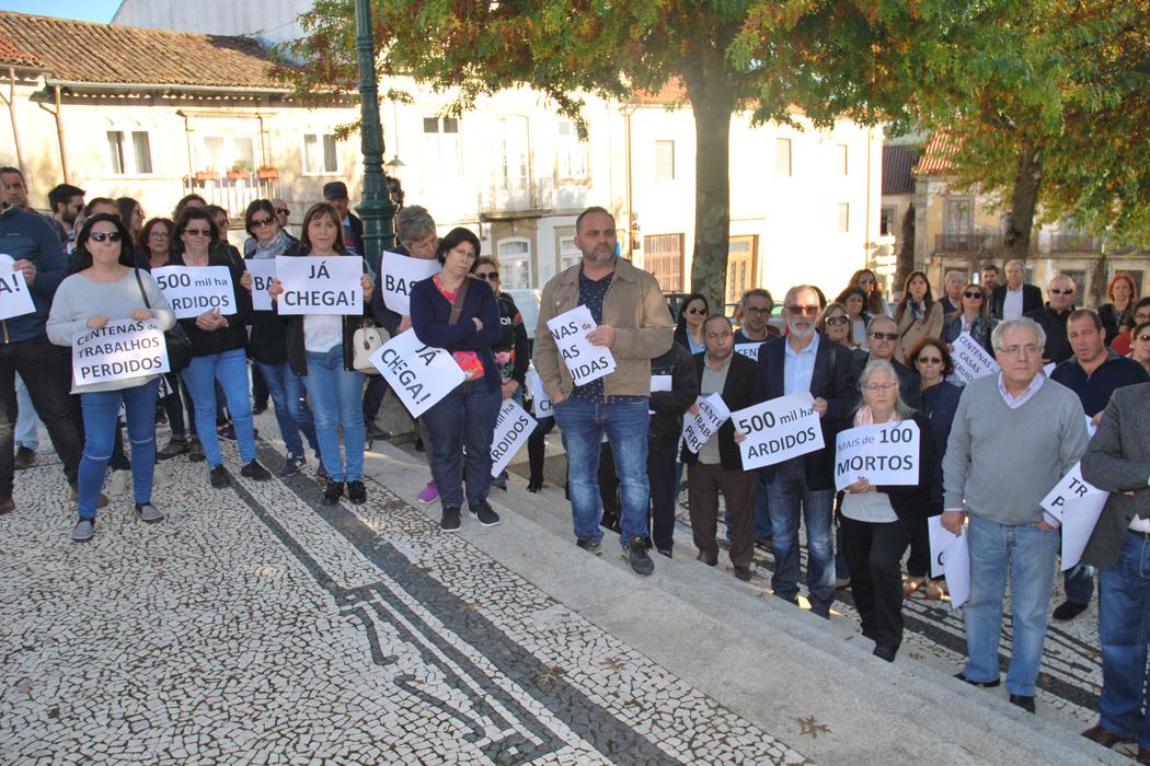 Manifestação em Barcelos