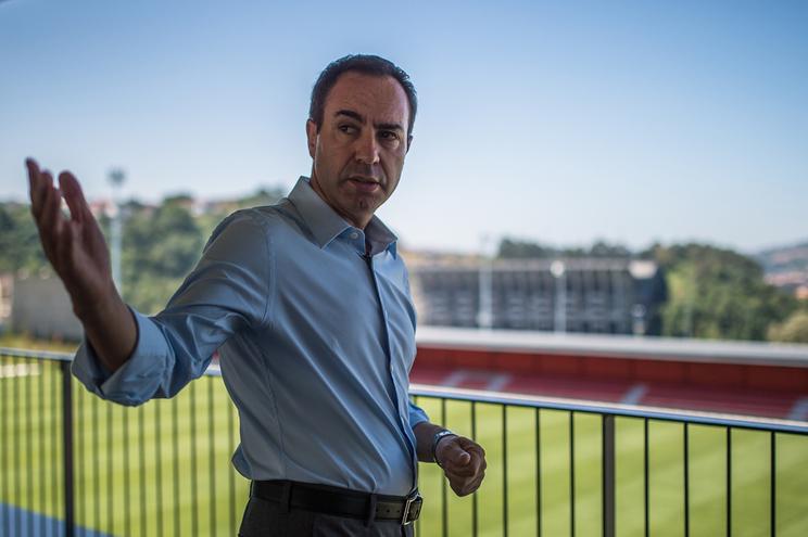 António Salvador, presidente do Sporting de Braga