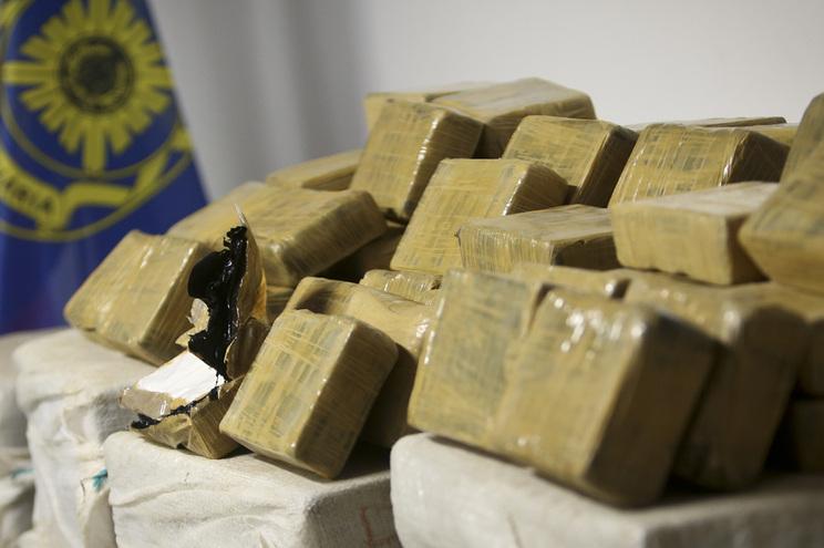 Cocaína apreendida daria para cerca de três milhões de doses individuais que renderiam mais de 126 milhões