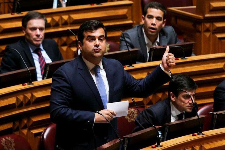 O deputado do PSD Duarte Marques