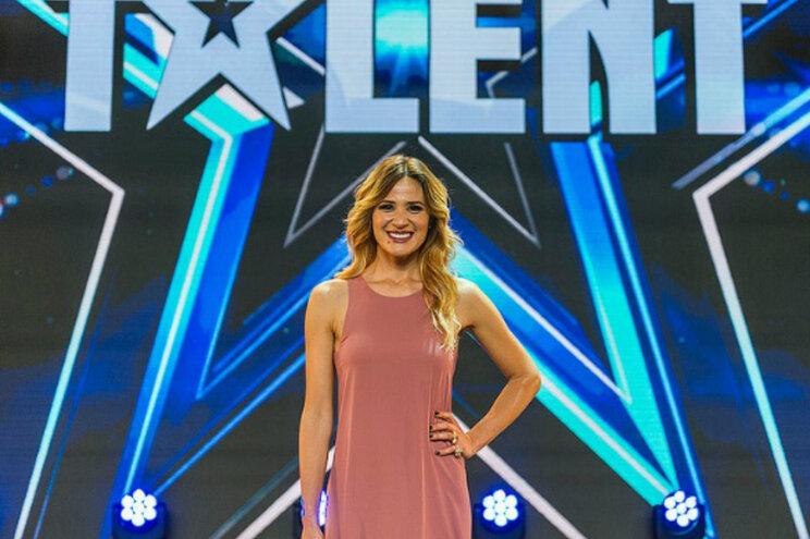 "Sílvia Alberto apresenta ""Got Talent Portugal"""