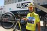 Gustavo Veloso, vencedor da 77ª Volta a Portugal em bicicleta, coma W52, que agora se junta ao F. C.