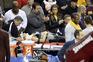 LeBron James manda mulher para o hospital