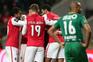 Braga consolida quarto lugar com goleada sobre Rio Ave