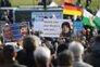 Movimento xenófobo convocou manifestações para várias cidades. Na imagem, o protesto de Dresden, na Alemanha