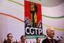 Chumbado direito de tendência dentro da CGTP