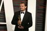 Leonardo DiCaprio esqueceu-se do Oscar no restaurante