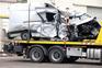 Mercedes só estava licenciada para seis ocupantes mas levava o dobro.