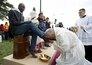 """Papa Francisco fala contra """"rejeição"""" de refugiados na Europa"""