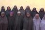 Grupo de raparigas raptadas pelo Boko Haram